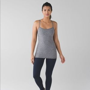 Lululemon Power Y Tank Grey 6